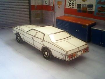 Dodge Monaco maquette résultat (by me)