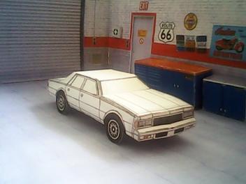 Chevrolet Caprice 1977 maquette résultat (by me)