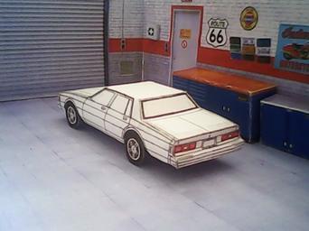 Chevrolet Impala 1980 maquette résultat (by me)