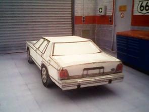 Ford LTD Crown Victoria 1988 maquette résultat (by me)