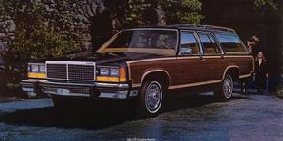 Ford LTD Crown Victoria Wagon / Country Squire 1979 & 83 maquette (by me)