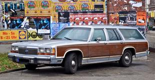 Ford LTD Crown Victoria Wagon / Country Squire 1988 maquette (by me)