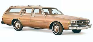 Chevrolet Caprice / Impala Wagon 80 maquette (by me)
