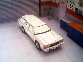 Ford LTD Crown Victoria Wagon 1979 maquette résultat (by me)