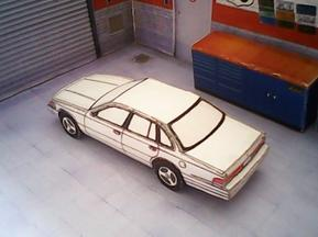 Ford Crown Victoria 1992 maquette résultat (by me)