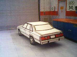 Ford LTD Fox 1983 maquette résultat (by me)