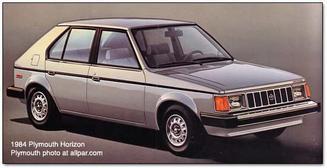 Plymouth Horizon / Dodge Omni / Talbot Horizon maquette (by me)