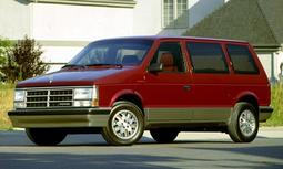 Chrysler / Plymouth Voyager / Dodge Caravan 1 maquette (by me)