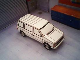 Chrysler Voyager 1983 maquette résultat (by me)