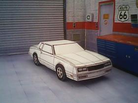 Chevrolet Monte-Carlo 1984 maquette résultat (by me)