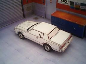 Buick Regal 1981 maquette résultat (by me)