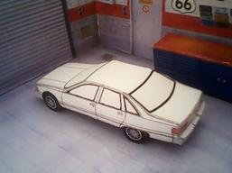 Chevrolet Caprice 1991 maquette résultat (by me)