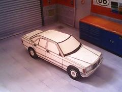 Mercedes-Benz W201 /190E maquette (by me)