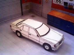 Mercedes-Benz W124 / 300E maquette (by me)