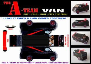 GMC Vandura - The A-Team Van