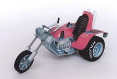 Trike / moto tricycle maquette