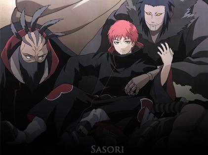 Personnage 6: Sasori des sables rouges