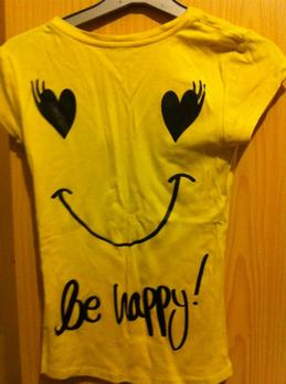 TSHIRT DON'T WORRY BE HAPPY