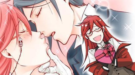 Un baiser....?! Avec la langue ?!