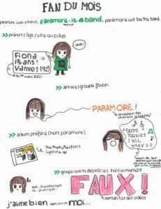 Fan du mois #1: Fiona.