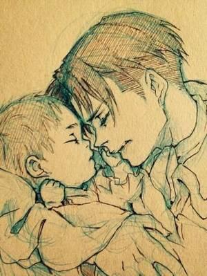 Titre: Kibō no kasukana hikari 希望のかすかな光  La lueur de l'espoir Chapitre II Ame ga futta sono yoru 雨が降ったその夜 Ce soir là il pleuvait