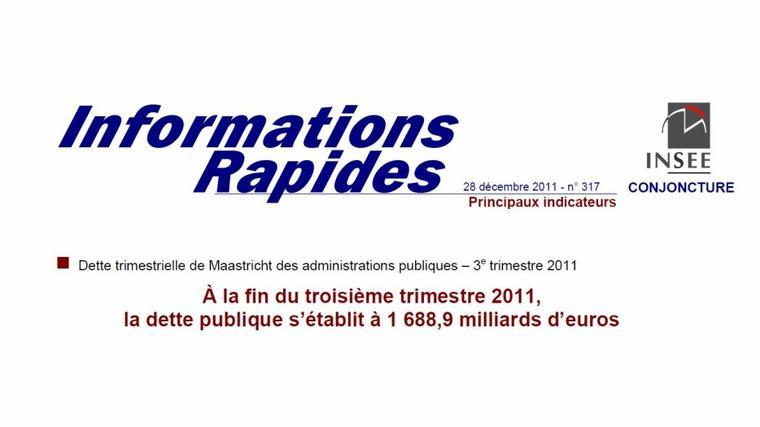 La dette réelle de la France