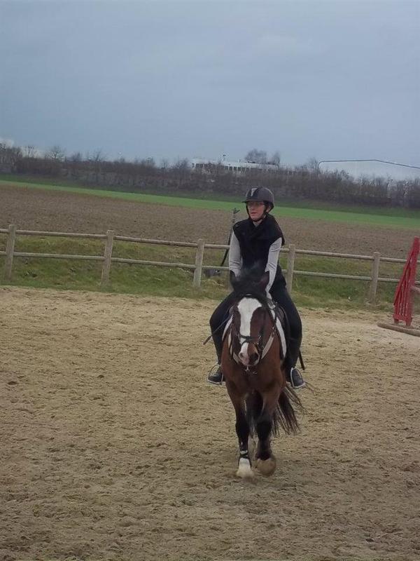 Mon Poney Et Adeline <3