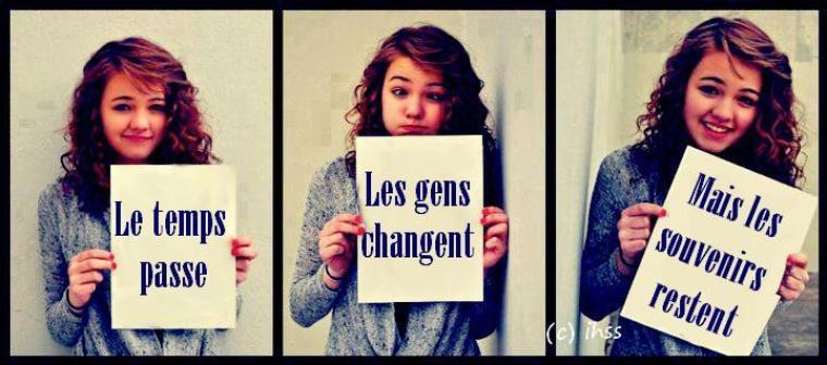 Le monde change ! ! ! <3