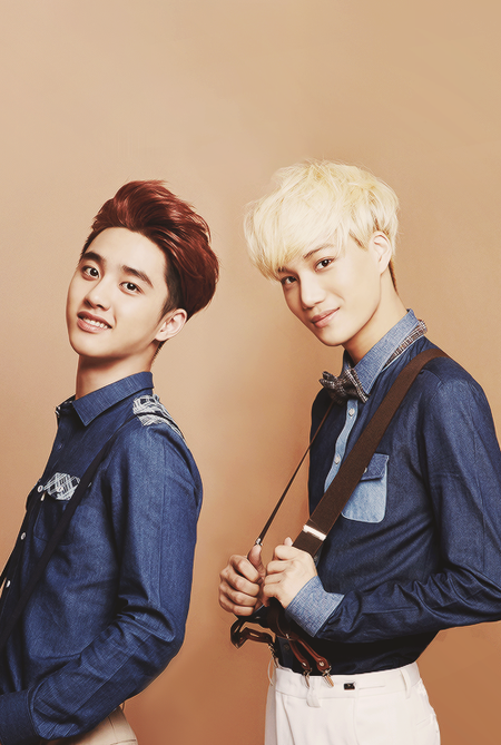 D.O ~ Kai (these guys are just...perfect!) ♥
