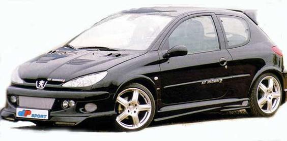 Peugeot 206 by DP Sport