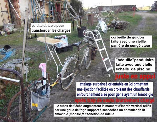 un pauvre cycliste a trouvé une pauvre cyclette