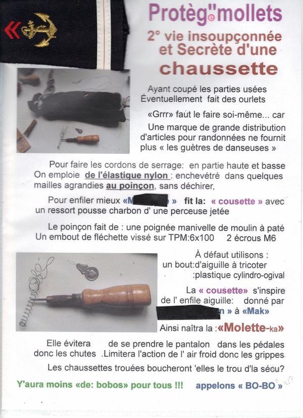 """laçage astucieux  : fabrication d'une """"enfileuse"""" manuelle"""