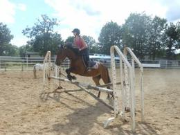 Cour de saut au Ranch :)