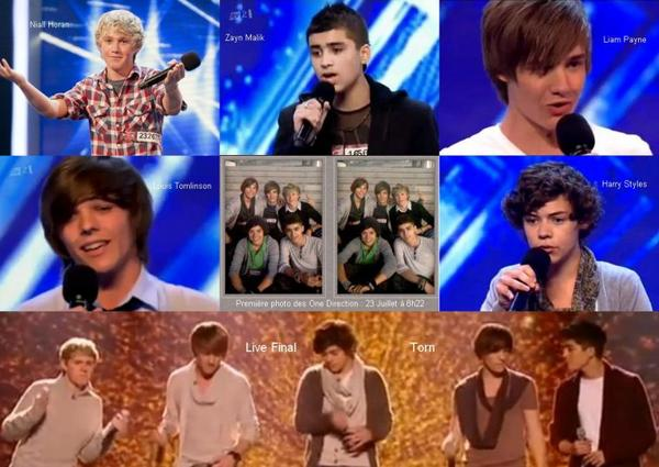 One Direction : De X Factor à Up All Night