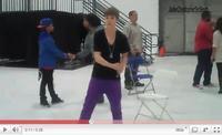 .   Samedi 12 Février 2011 : Préparation des Grammys Awards en compagnie de Justin et Usher ! .