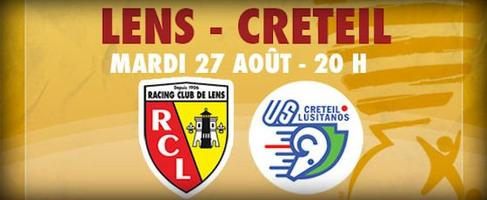 ! COUPE DE LA LIGUE ! SECOND TOUR ! LENS - US CRETEIL LUSITANOS > MARDI 28 AOÛT 2013