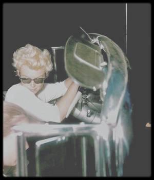 1955 / Photos James HASPIEL, fan et ami de Marilyn, à New-York.