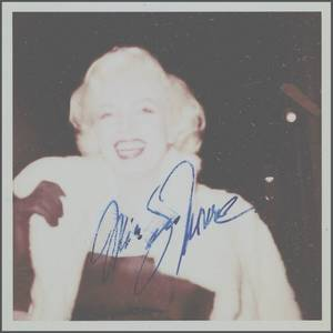 1955 / Rares candides et autographes de James COLLINS, l'autre grand fan de Marilyn, après James HASPIEL.