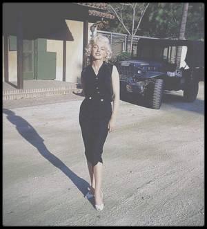 1953 / Marilyn par Harold LLOYD.