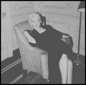 """26 Janvier 1955 / Marilyn fit une interview au """"Gladstone Hotel"""" de New York, accompagnée par Milton GREENE, avec le journaliste George CARPOZI Jr et le photographe George MILLER, puis se promena dans """"Central Park"""" avec le  photographe."""
