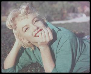 1954 / Ted BARON photographie Marilyn à Palm Springs.