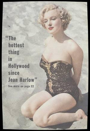 1951 / Pour tous ceux qui sont à la plage en vacances, Marilyn sous l'objectif d'Earl THEISEN.