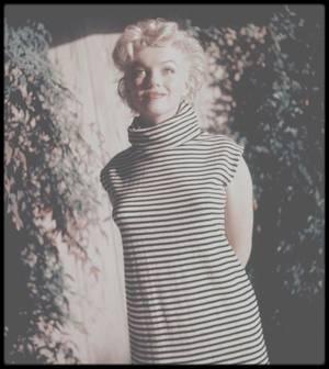 1954 / Marilyn vue par le photographe Ted BARON.