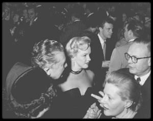 """1951 / (PART III) Soirée au """"Mocambo Club"""". (voir tag pour plus de détails)."""
