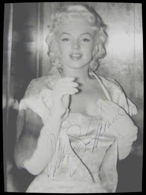 """1955 / RARES autographes lors de la Première du film """"East of eden""""."""