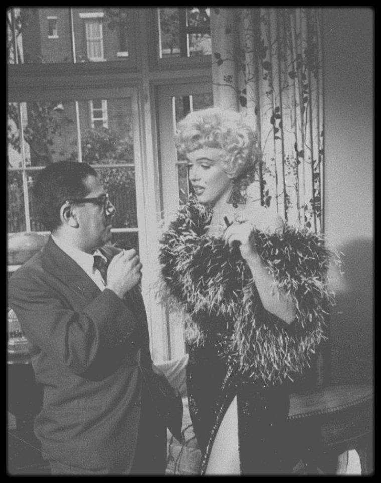 1949-62 / Marilyn et le journaliste Sidney SKOLSKY... UNE LONGUE AMITIEE !