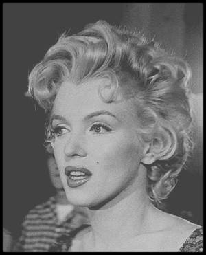 """1956 / RARES INSTANTANES de Marilyn sur le tournage du film """"Bus stop"""", notamment avec le réalisateur Joshua LOGAN, son maquilleur Allan SNYDER, son partenaire Don MURRAY et autres fans..."""