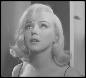 """1960 / Pour mon amie Simona, mes captures d'écran de Marilyn dans le film """"The misfits""""."""
