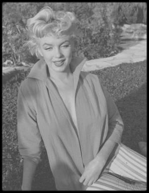 1954 / Marilyn sous l'objectif du photographe Ted BARON, nouvelles photos.