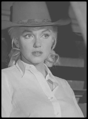 """1960 / AUTOUR DU FILM """"THE MISFITS""""."""